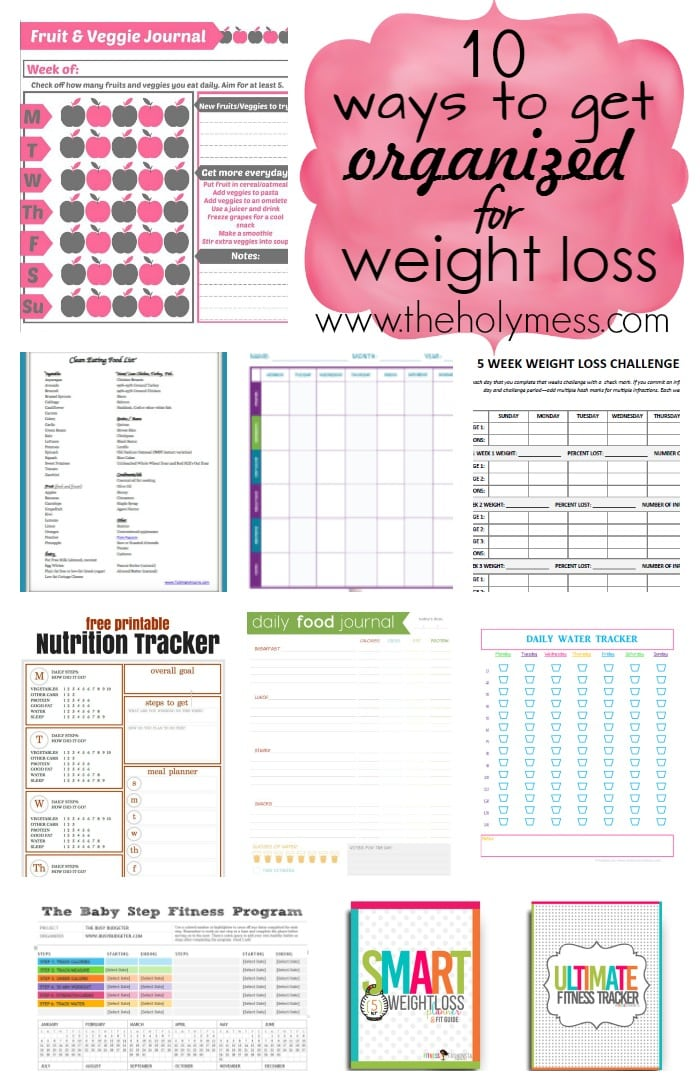 Dynamite image with weight loss tracker printable
