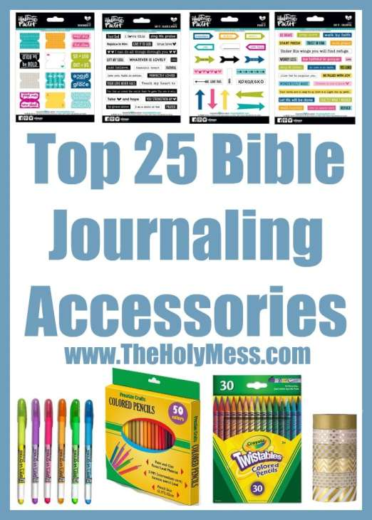 Top 25 Bible Journaling Accessories The Holy Mess