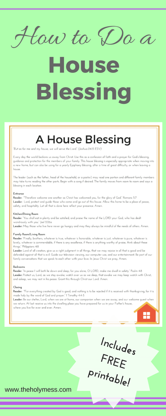 How to Do a House Blessing