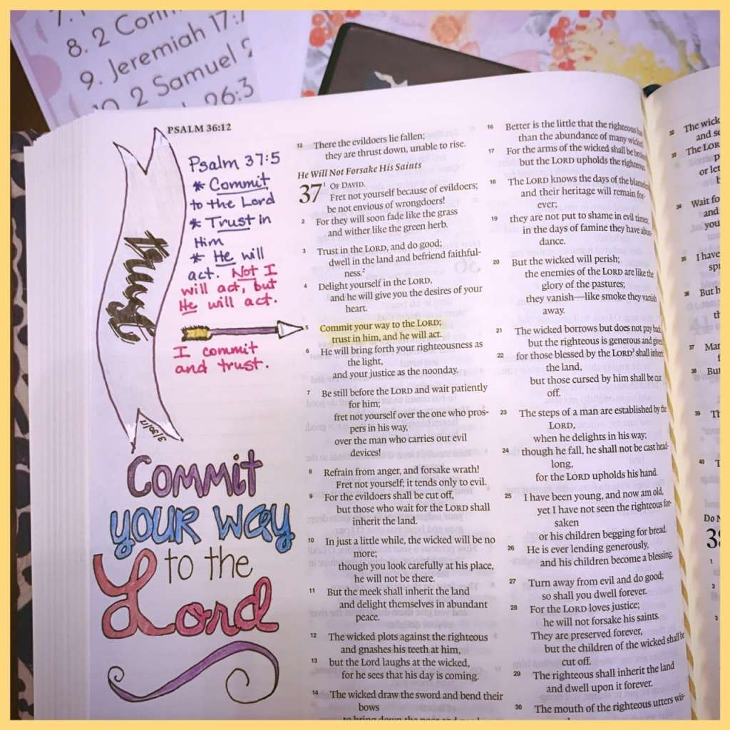 Bible Journaling Images|The Holy Mess