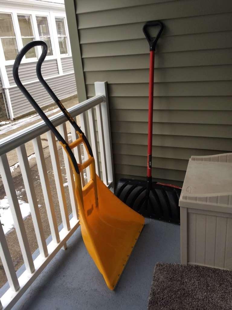 Big shovel for Buffalo, new York