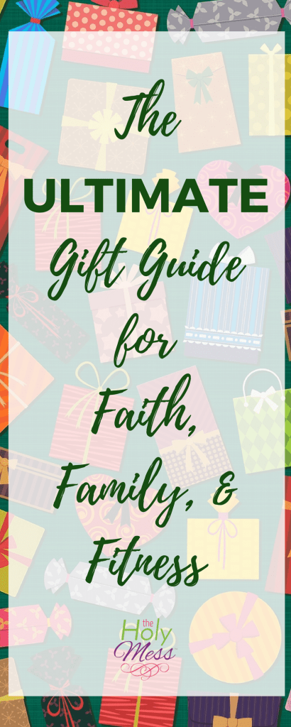 The Ultimate Gift Guide for Faith, Family, and Fitness #holiday #giftguide #bestgifts