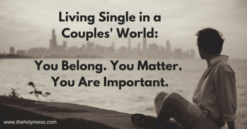 You Belong. You Matter. You Are Important.