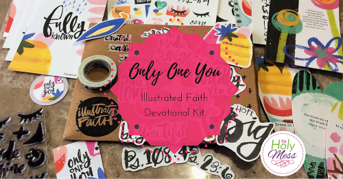 """Illustrated Faith """"Only One You"""" Devotional Kit"""