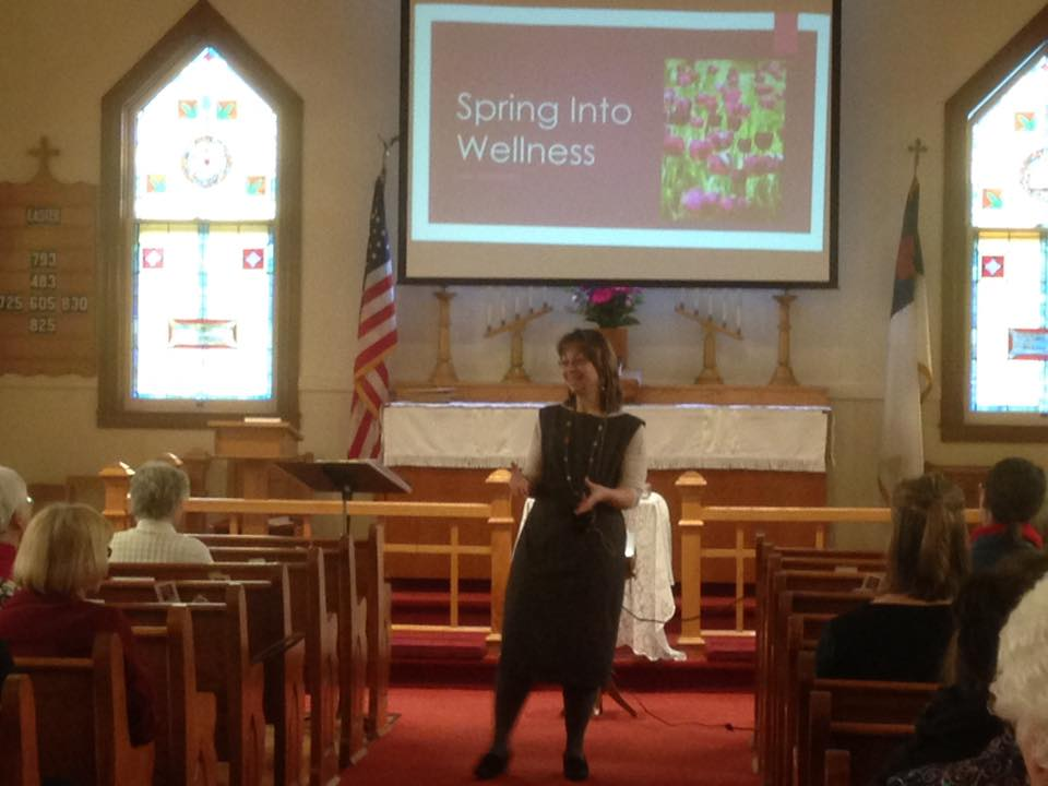 Sara Borgstede, Spring into Wellness speaker