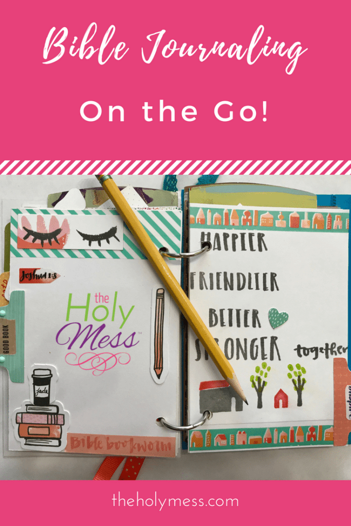 Bible Journaling on the Go