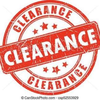 Clearance!