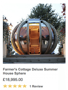 4.farmers cottage deluxe summer house sphere