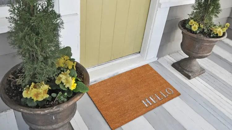 different types of door mats