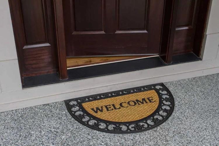 Home made Door mat