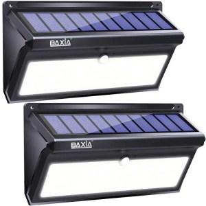 baxia technology Outdoor solar spot light with motion sensor