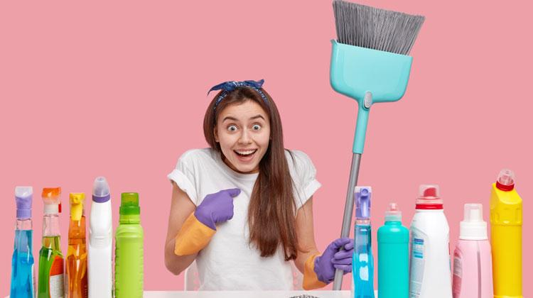 How to Clean a Broom