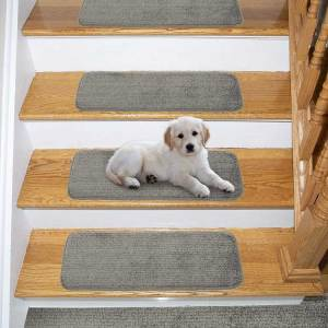 Stair Pads for Wooden Stairs