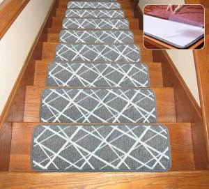 Rubber Backing Specialized for Indoor Wooden Steps