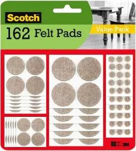 Scotch Felt Furniture Pads - Best Self Adhesive Felt Pads forHardwood Floors
