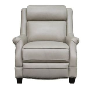 Birch Lane™ Donoho Wide Genuine Leather Power Wing Chair Recliner
