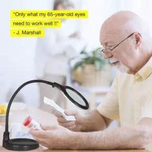 Best Reading Light for elderly