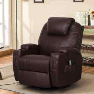 Esright PU Leather Ergonomic Lounge Electric Power Recliner for Elderly