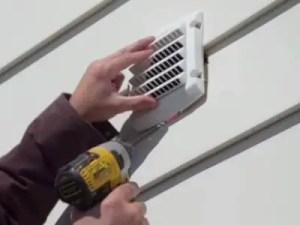 Venting A Bathroom Fan Through The Wall