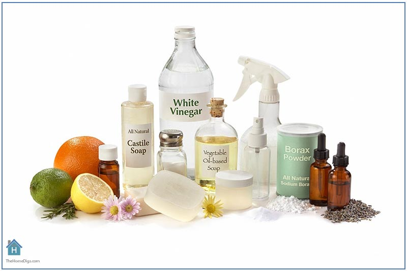 All Natural Cleaning Ingredients for the Home