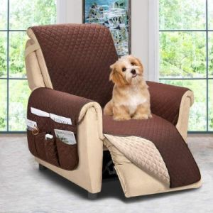 large recliner chair covers with side pockets