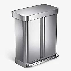 Best dual compartment trash bin