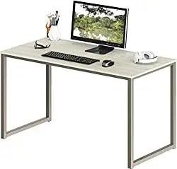 SHW 48-Inch Lightweight Computer Desk - Best Affordable Home Office Desk