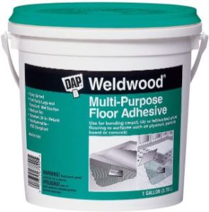 DAP 142 00142 Weldwood Multi-Purpose Floor Adhesive, Flooring Glue