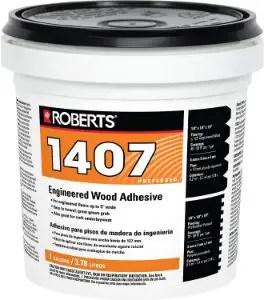 QEP CO INC ROBERTS 1407-1Multipurpose Flooring Glue - Best Engineered Wood Adhesives