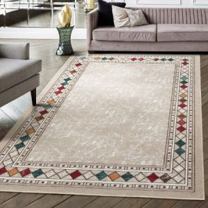 Antep Rugs Alfombras Modern Bordered Indoor Area Rugs