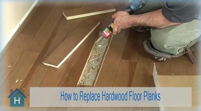 How to Replace Hardwood Floor Planks 1