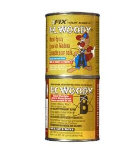PC Products PC-Woody Wood Repair Epoxy Paste (Best for decks)