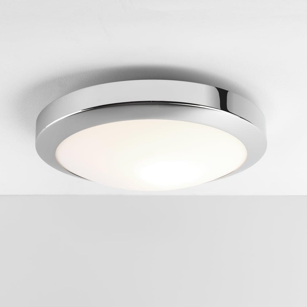 astro lighting dakota round bathroom led light in polished chrome finish 1129007
