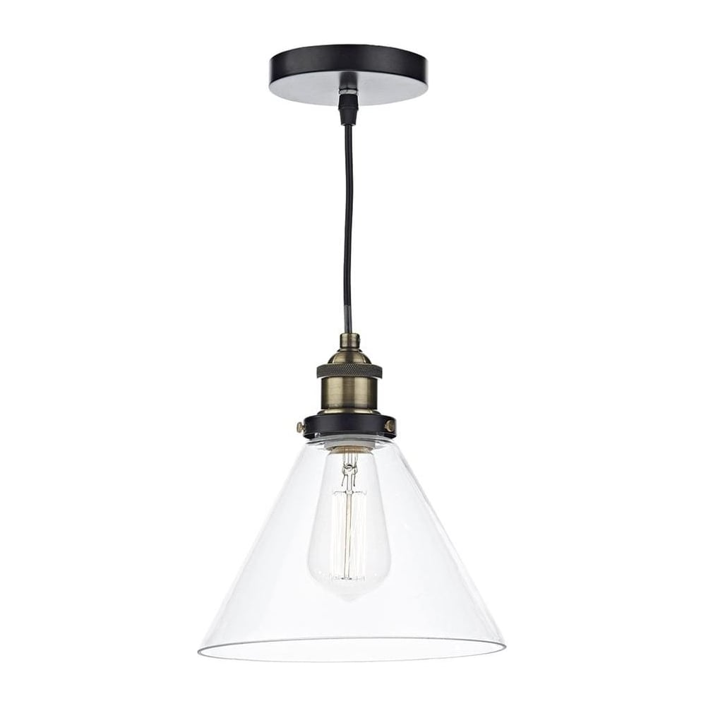 dar lighting retro vintage style edison glass ceiling pendant light ray0175 ray
