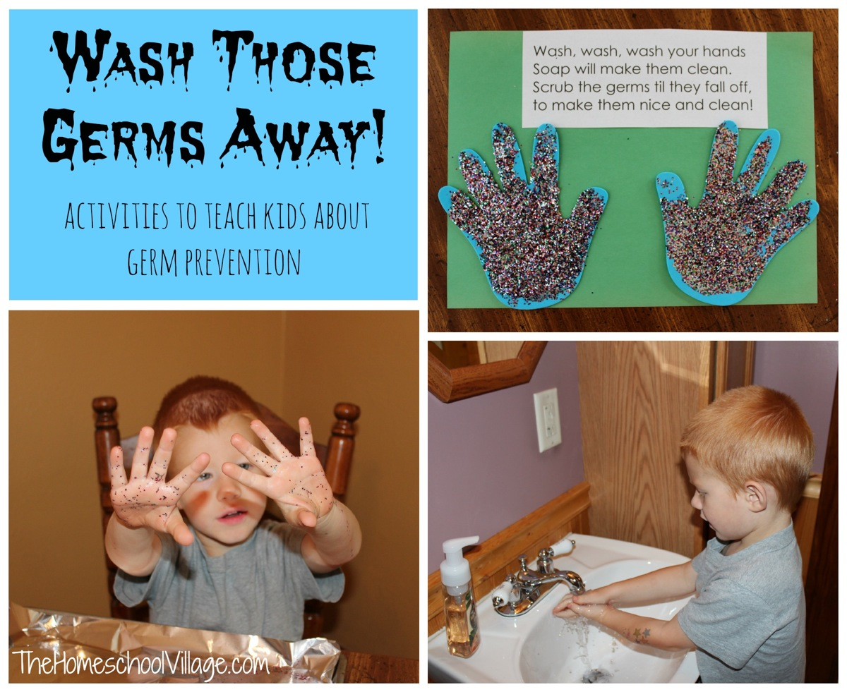 Wash Those Germs Away