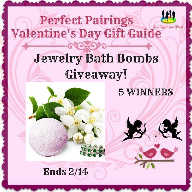 Jewelry Bath Bombs Giveaway