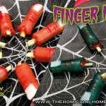 Finger Food (Zombie Style or Freshly Severed) | The Homicidal Homemaker