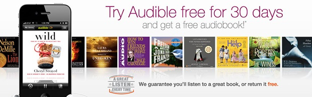 Image result for audible banner