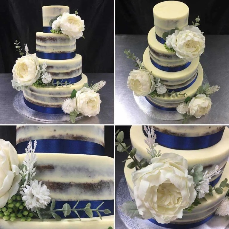 Bespoke wedding cakes made to order