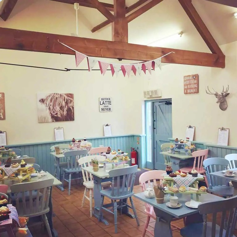 Honey Pot Tea Rooms, Rosliston, Swadlincote