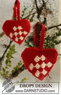 Danish Heart from Drops Design