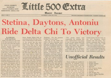 Mark Dayton and Delta Chi's Little 500 Dynasty