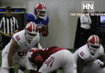 Reaction from IU Football Spring Game