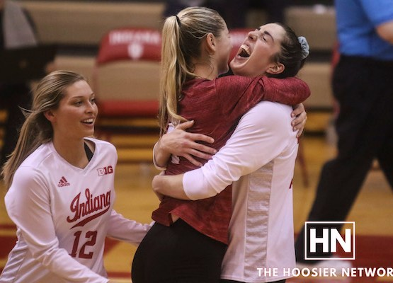 #HNTop10: Indiana Volleyball's resume win over #14 Michigan