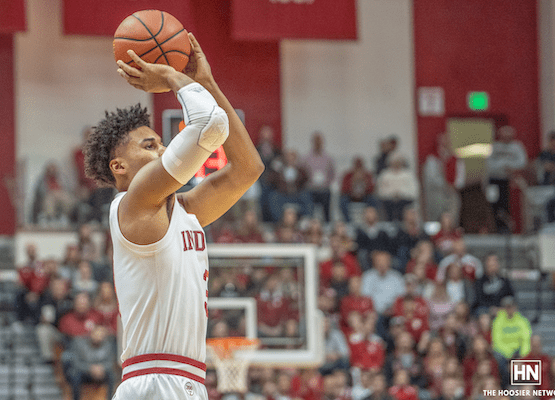 Indiana owns the three-point line in dominant win over Troy