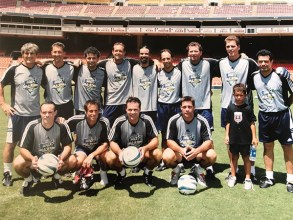 Juergen at a 2004 MLS All Star Event.