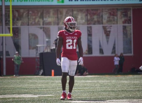 Noah Pierre didn't give up on IU football. Now he's getting his chance to shine.