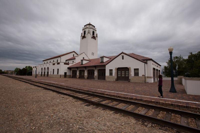 train station depot