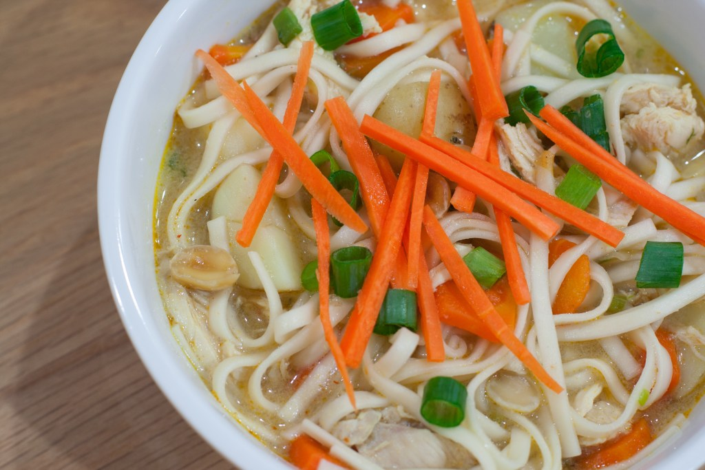 Massaman Chicken Noodle Soup