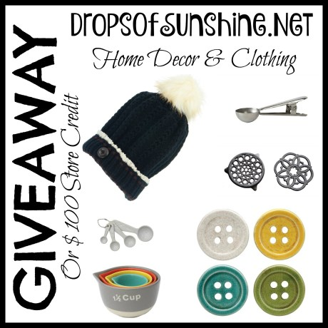 Drops of Sunshine Holiday Giveaway ~ TheHopelessHousewife.com